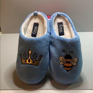 Circus by Sam Edelman slippers. NIB baby blue